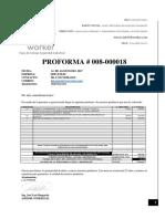 Proforma Jb Worker 2017 - Luis Morales