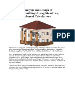 Structural Analysis and Design of Residential Buildings Using Staad