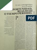 KRONFLE CHAMBERS ad Realidad o Tiempo Perdido_2001