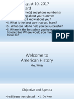 American History Welcome1.pptx