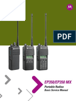 EP350 and EP350 MX LACR Portable Basic Service Manual