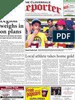 Cloverdale Reporter July 30, 2010