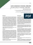 Politica Nacional de Educaciòn ambiental en Colombia, 2002-2010