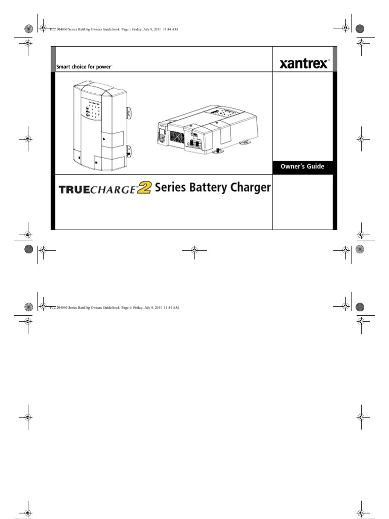 Xantrex TrueCharge 40 | Battery Charger | Battery (Electricity) on
