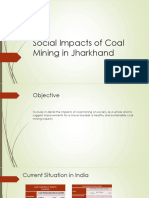 Social Impacts of Coal Mining in Jharkhand