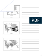 Developing Occlusion Slides Printout