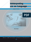 N. Rossini-Reinterpreting Gesture as Language_ Language ''in Action'' - Volume 11 Emerging Communication_ Studies in New Technologies and Practices in Communication-IOS Press (2012)