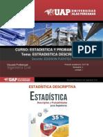 Sesion 01 Estadistica -Tema Estadistica Descriptiva Subir