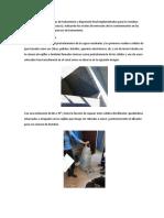 Descripción de Sistemas de Tratamiento y Disposición Final Implementados Para Los Residuos
