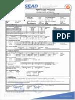 Recloser RESEAD Serie 500834 - Protocolo de Pruebas