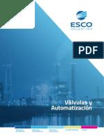 EscoArg Valvulas Actuadores 2016