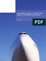 Accounting for Leases of Aircraft Fleet Assets in the Global Airline Industry