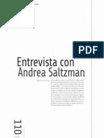 A Entrevista Con Andrea Saltzman