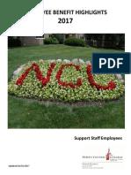 2017 Employee Benefit Highlights - Support Staff