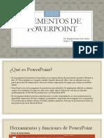 Elementos de PowerPoint