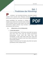 BAB 3 Pendekatan Dan Metodologi
