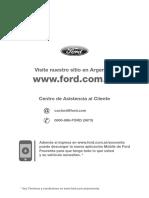 Manual de Garantia y Mantenimiento Ford Transit 2013