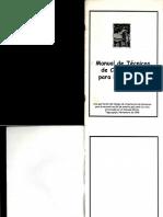 Manual de Tecnicas de Construcción Para Emergencia - ARQUI LIBROS - AL