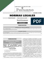 (1) Decreto Supremo 085-2017-PCM - Declaran Estado de Emergencia en los distritos de Chalhuahuacho Haquira y Mara provincia de Cotabambas del departamento de Apurímac.pdf