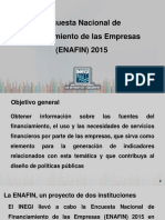 Encuesta de Financiamiwnto