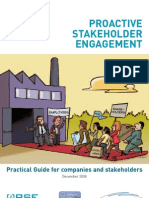 Proactive Stakeholder Engagement