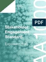 Stakeholder Engagement Standard