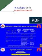 Farmacología de La Hipertensión Arterial