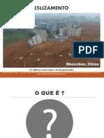 Deslizamento (Estudos Ambientais)