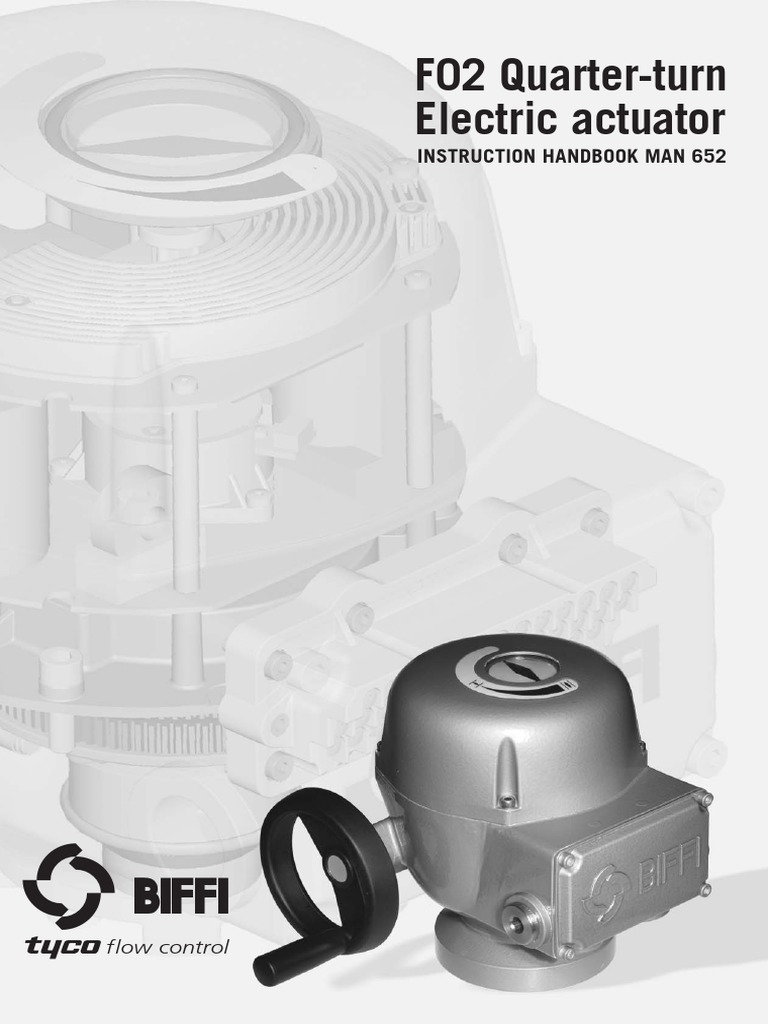 Biffi F02 Actuator Wiring Diagram - Somurich com