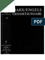 Megac2b2 III 3 Karl Marx Friedrich Engels Briefwechsel Januar 1849 Bis Dezember 1850 Text