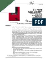 E110 Flame Monitor