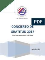 Proyecto Concierto Aniversario