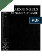 Megac2b2 IV 9 Karl Marx Exzerpte Und Notizen Juli Bis September 1851 Text