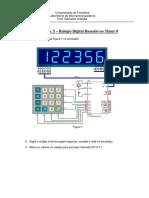 Experiencia de Microcontrolador Para o Proteus