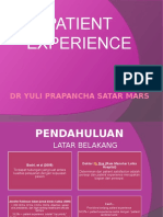 5.Patient Experience