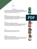Elementos Filtrantes Secadores HF Hankison