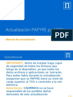 Actualización PAPYRE Pad 972