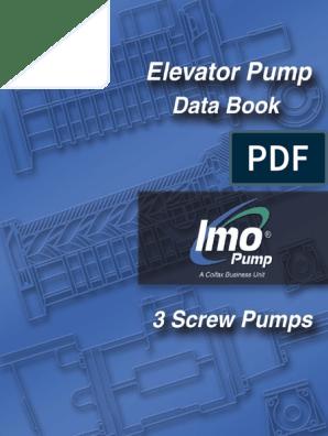 IMO Elevator Pump | Belt (Mechanical) | Pump