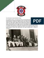 Acta de Fundacion Cuerpo de Bomberos La Ligua