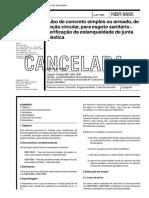 ABNT NBR 8895 - Tubo De Concreto Simples Ou Armado De Secao Circular Para Esgoto Sanitario - Veri.pdf