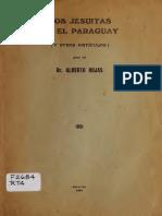 Los Jesuitas en El Paraguay Alberto Rojas 1936(1)