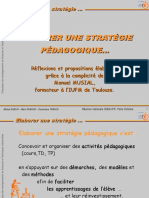 Elaborer Une Strategie