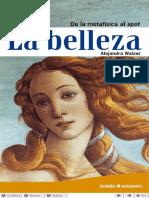 WALZER, A. - La belleza. De la metafísica al spot.pdf