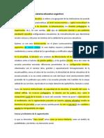 La Segmentación Del Sistema Educativo Argentino