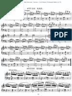 Divernoy Ecole Primaire, 25 Elementary Studies, Op. 176 Br. 23 C-dur