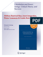 Technological Mediation and Power Postph