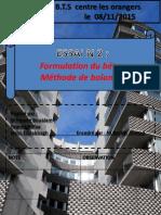 Formulation Du Beton