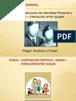 FAMILIA Piaget, Erickson y Freud