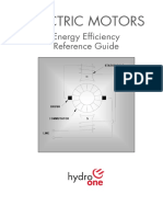 Electric Motors Energy Efficiency Reference Guide