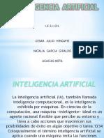 diapositiva de la inteligencia artificial